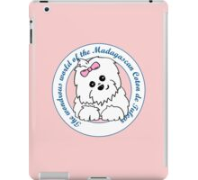 Life circle Coton de Tulear - The wondrous world of the Coton de Tulear iPad Case/Skin