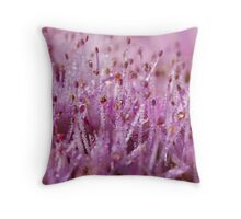 Glistening Sedum Throw Pillow