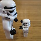 Dave Stormtrooper  Fathers Day Hug by apawdesign