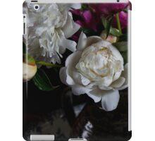 Peonies in a vase iPad Case/Skin