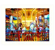 """""""Merry Go Round"""" Art Print"""