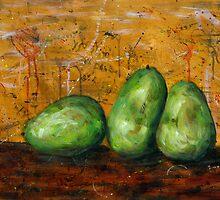 Three Pears by RandyC