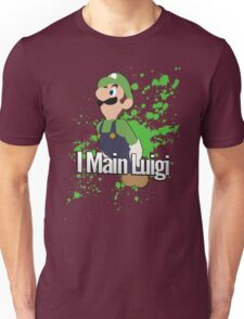 I Main Luigi - Super Smash Bros. Unisex T-Shirt