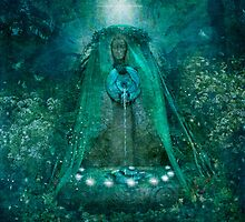 Lady of the Sacred Spring by Angie Latham