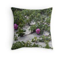 Blooming Dune  Throw Pillow
