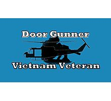 Door Gunner - Vietnam Veteran Photographic Print