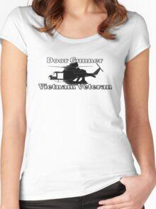 Door Gunner - Vietnam Veteran Women's Fitted Scoop T-Shirt