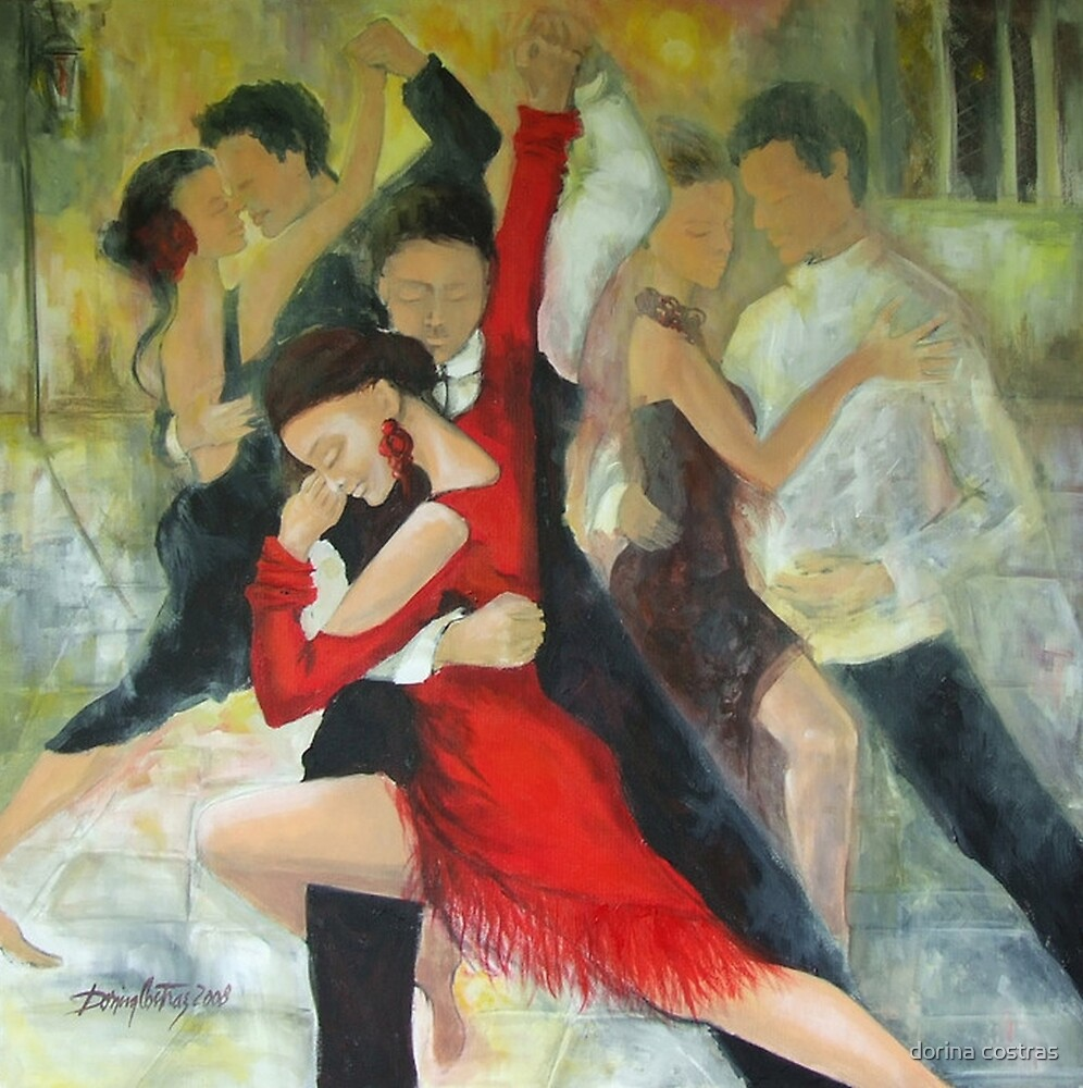 Sentimental tango by dorina costras