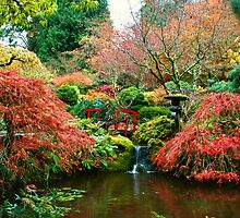 Butchart Gardens 33 by James Birkbeck