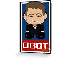 Rand Paul Politico'bot Toy Robot 2.0 Greeting Card