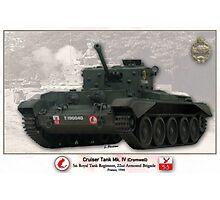Tank Cruiser Mk. IV (Cromwell) Photographic Print