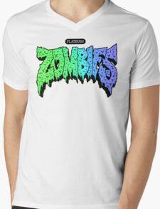 Flatbush ZOMBiES Logo Mens V-Neck T-Shirt