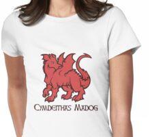Draig Cymdeithas Madog  Womens Fitted T-Shirt