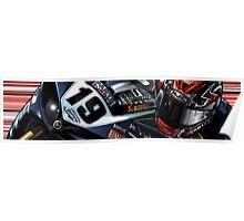 Ben Spies - Yamaha Italia R1 Poster