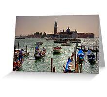 Giudecca Canal Greeting Card