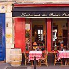 Restaurant in Paris by Christine  Wilson