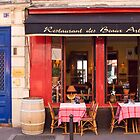 Restaurant in Paris by Christine Wilson