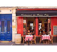 Restaurant in Paris Photographic Print