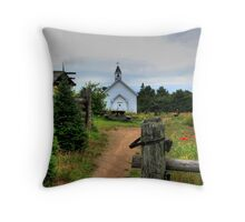 Mockingbird Hill Pioneer Farm Throw Pillow