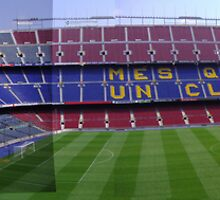 Camp Nou by Chris Leyland