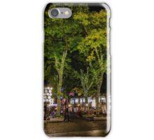 Fall Night in Boston -3 iPhone Case/Skin