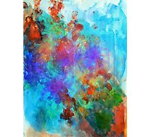 Colorful Ink Painting Photographic Print
