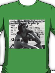 George Best- Spirit in the Sky T-Shirt