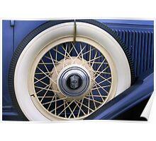 Vintage Nash Tire Poster