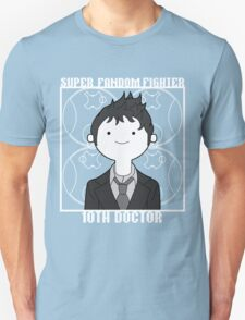 Super Fandom Fighter - 10th Doctor T-Shirt