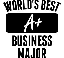 World's Best Business Major by GiftIdea