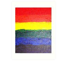 Misty's Rainbow Art Print