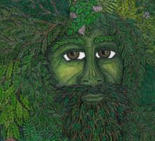 The Ledgend of The Greenman Sticker