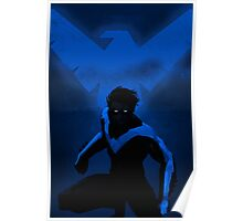 Blue Nightwing Poster