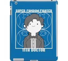 Super Fandom Fighter - 11th Doctor iPad Case/Skin