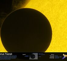 Venus Transit by OuterSpaceInfo