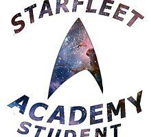 Starfleet Academy Student by isilygoodart