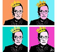 The Notorious RBG Photographic Print