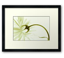 artless Framed Print
