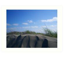 Sculpted- Ocean Shores, WA Art Print