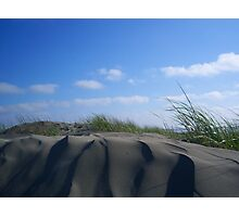 Sculpted- Ocean Shores, WA Photographic Print
