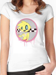 Kawaii Toy Chica Women's Fitted Scoop T-Shirt