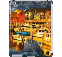 Bearskin Neck, Rockport iPad Case/Skin