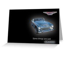 Austin Healey 3000Mx11 Greeting Card
