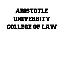 ARISTOTLE UNIVERSITY COLLEGE OF LAW by philbeck