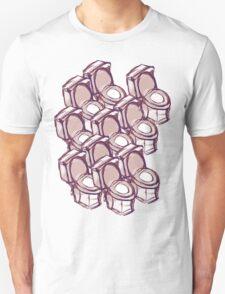 TOILET WC  AUDITORIUM Unisex T-Shirt