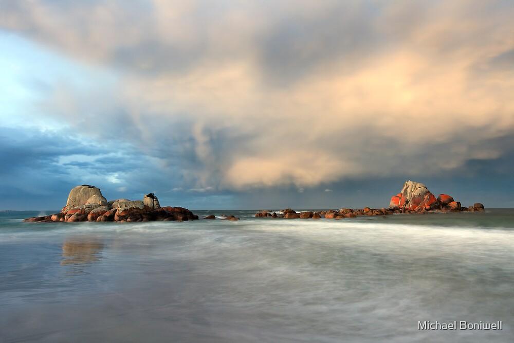 Picnic Rocks, Eddystone Pt, Tasmania by Michael Boniwell