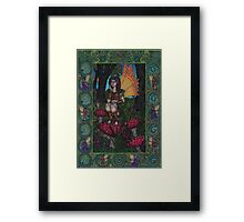The Woodland Fairy Framed Print