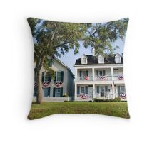 Patriotic Town Throw Pillow