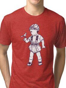BIRD BOY RETRO 50s Tri-blend T-Shirt