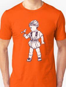 BIRD BOY RETRO 50s Unisex T-Shirt
